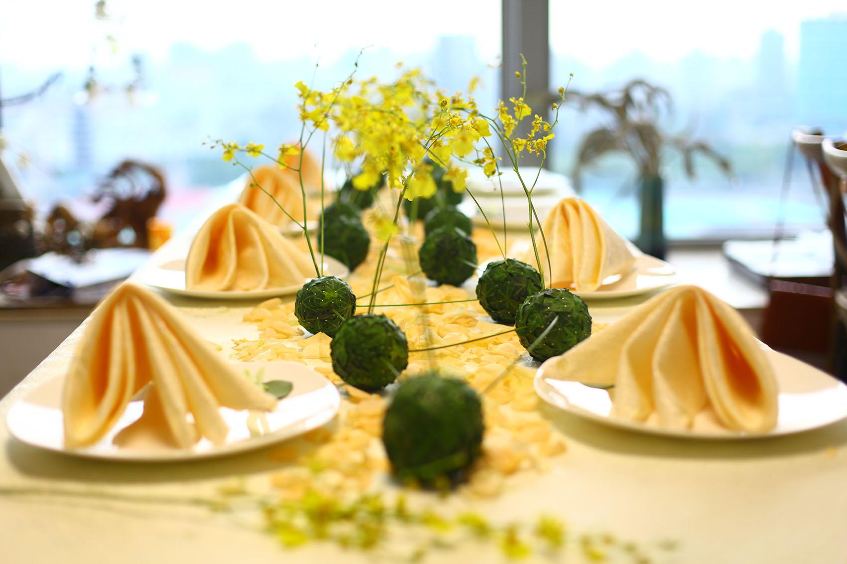 婚宴花艺设计 谢明花艺设计培训