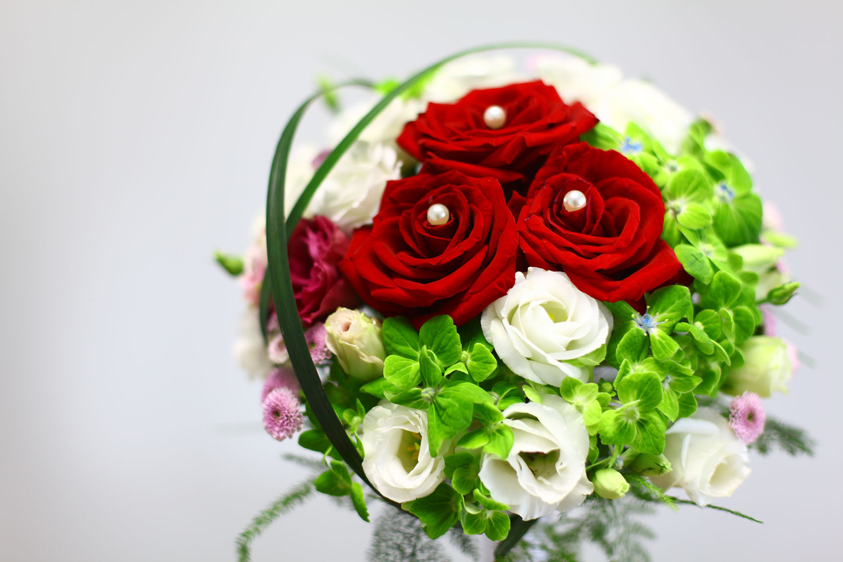 婚礼花艺 新娘手捧花